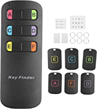 $37 » Sponsored Ad - Hyuduo1 Wireless Anti‑Lost Control Key Finder with 6Pcs Receivers,Remote Sound Alarm Locator Reminder for T...