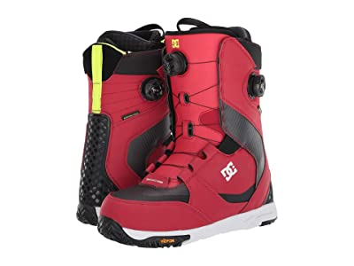 DC Shuksan Dual BOA(r) Snowboard Boots (Racing Red) Men