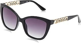 Guess 19307211 Cateye Sunglasses GU7571E Black/Other/Gradient Smoke