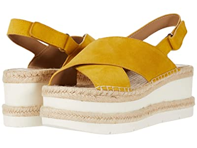 Marc Fisher LTD Gandy (Yellow Suede) Women