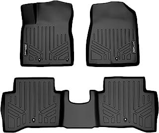 SMARTLINER Custom Fit Floor Mats 2 Row Liner Set Black for 2017-2018 Kia NIRO