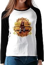 MULTY9 Kanye Omari West Women's Long Sleeve Jersey Shirt