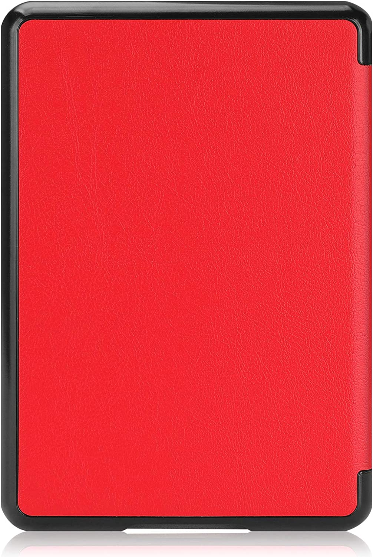 Lobwerk Funda para Kindle Paperwhite 10 Generation 2018 Funda para e-Reader de 6 Pulgadas con funci/ón de Encendido y Apagado autom/ático 04