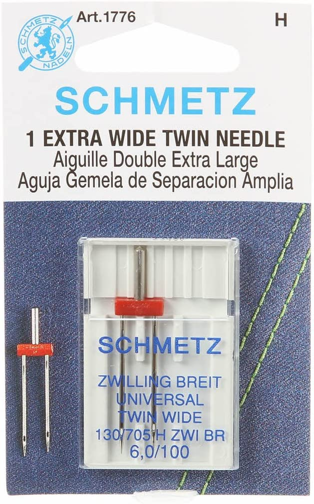 Schmetz Universal Twin Double Sewing Machine Needles System Quality inspection Outlet SALE 130