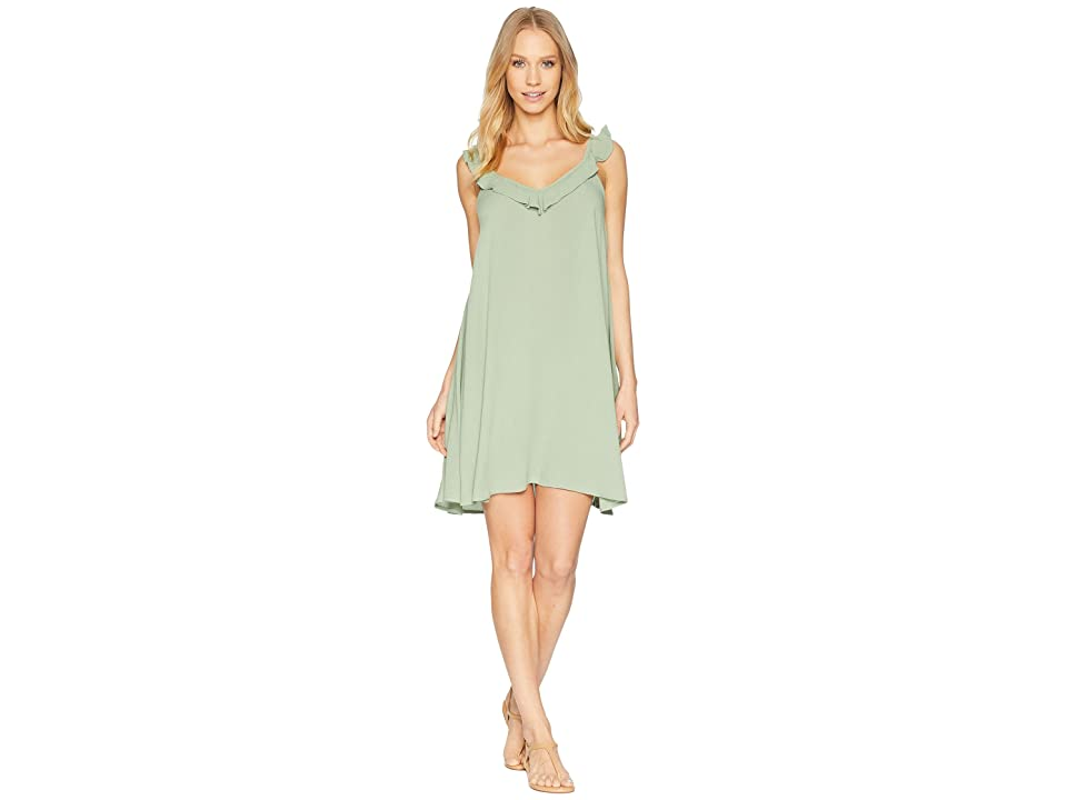 Roxy Dancing Around Cover-Up (Hedge Green) Women