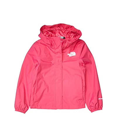The North Face Kids Resolve Rain Jacket (Little Kids/Big Kids) (Mr. Pink) Girl