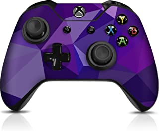 Controller Gear Controller Skin - Purple Poly - Officially Licensed by Xbox One