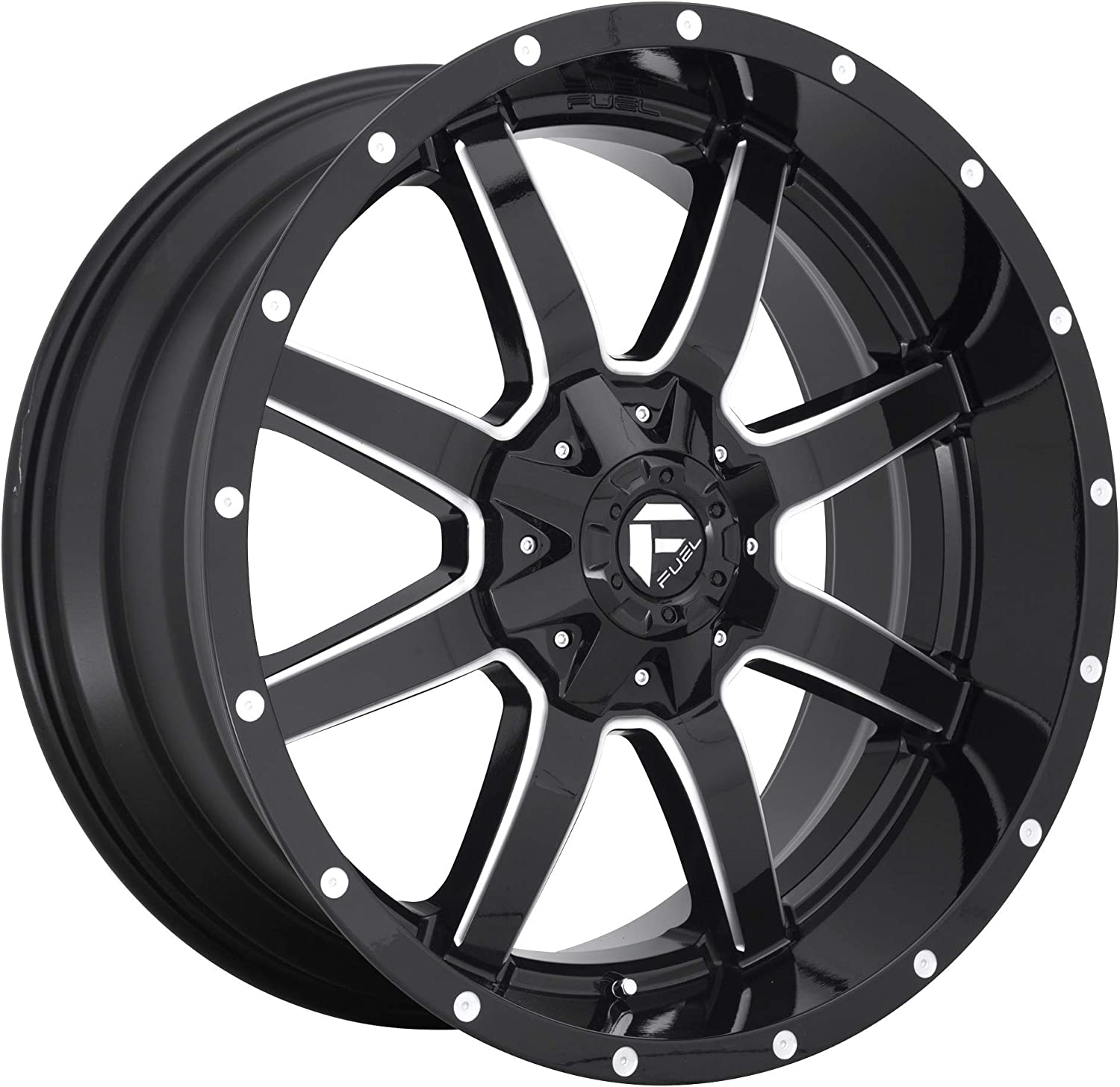 Los Angeles Popular shop is the lowest price challenge Mall Fuel Offroad D61020201747 BLACK Wheel 20 inches 8 170 x 12.