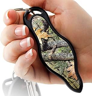 MUNIO Designer Self Defense Kubotan Keychain with Ebook (Natural Camo)