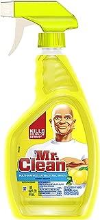 Mr. Clean Multi-Surface Antibacterial Spray Cleaner, Lemon Scent 32 oz (Pack of 4)