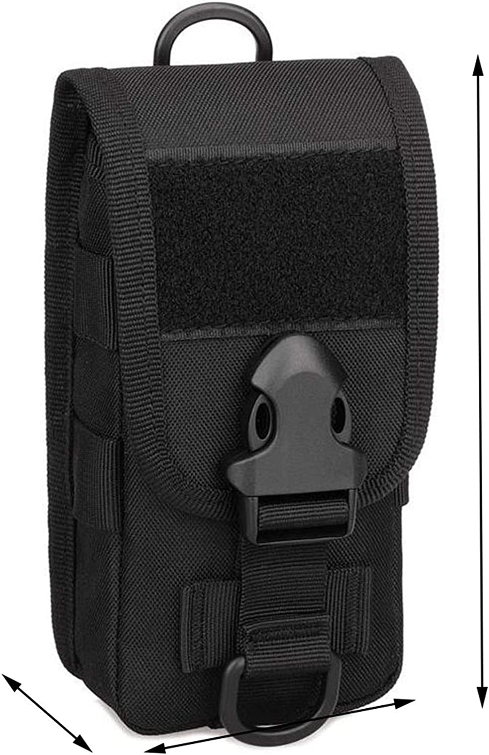 Cell Phone Holster Pouch Smartphone Pouch Crossbody Shoulder Cell Phone Holster Belt Pouches for Men Waist Bag Pack Carry Pouch for iPhone X 6 6s 7 Plus 8 Plus,Samsung Galaxy Note 8 S7 S8 S6