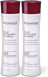 Keranique Color Boost Scalp Revitalizing Keratin Shampoo for Color Treated Hair | Keratin Hair Treatment | Keratin Amino C...