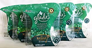 10 Glade Enchanted Evergreens Scented Oil Plugins Air Freshener Refill Nutcracker