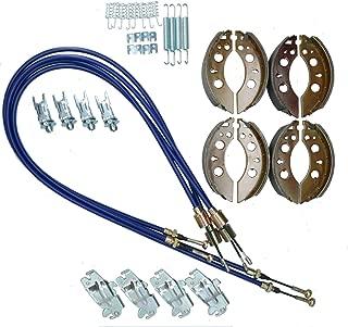 AB Tools_URB Brake Shoe & Cable Kit for Indespension Car Transporter Trailer 2700kg