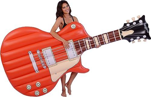 precios bajos todos los dias Inflatable 8 ft. Electric Guitar Pool Float Float Float  selección larga
