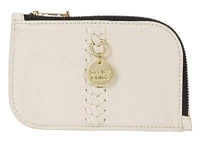 See by Chloe Tilda Compact Wallet (Cement Beige) Wallet Handbags
