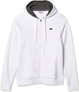 Men's Sport Long Sleeve Fleece Full Zip Hoodie Sweatshirt
