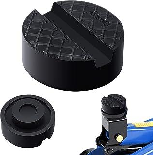 /Ø 65 x 25 mm per cric e cric antiscivolo rotondi per tutte le auto fino a 3,5 T Cuscinetti universali in gomma per cric con scanalatura a V da 15 x 7 mm Jackpad 2 pezzi supporto in gomma