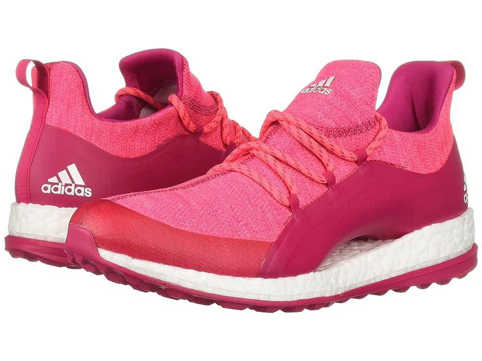 adidas Golf Pureboost XG 2 (Red Zest/Active Purple/Footwear White) Women