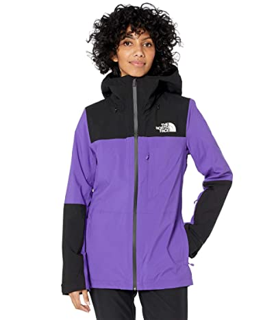 The North Face Thermoball Eco Snow Triclimate Jacket (Peak Purple/TNF Black) Women