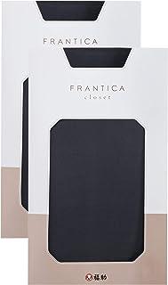 [フクスケ] 2足組 ニュアンスカラー30Dタイツ 258:FRANTICA レディース
