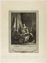 Historic Pictoric Print : La Toilette, from Monument du Costume Physique et Moral de la fin du Dix-huitième siècle, Nicolas Joseph Voyez, c 1615, Vintage Wall Decor : 36in x 48in