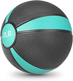 JBM Medicine Ball Slam Ball 2lbs 4lbs 6lbs 8lbs 10lbs 12lbs 15lbs Workouts/Exercise Strength Training Cardio Exercise Plyometric & Core Training Squats,  Lunges