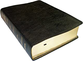 NKJV - Black Genuine Leather - Regular Size - Thompson Chain Reference Bible (013060)