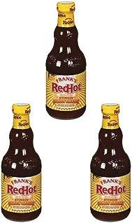 Frank's RedHot Stingin' Honey Garlic Sauce, 12 Ounce (3 Pack)