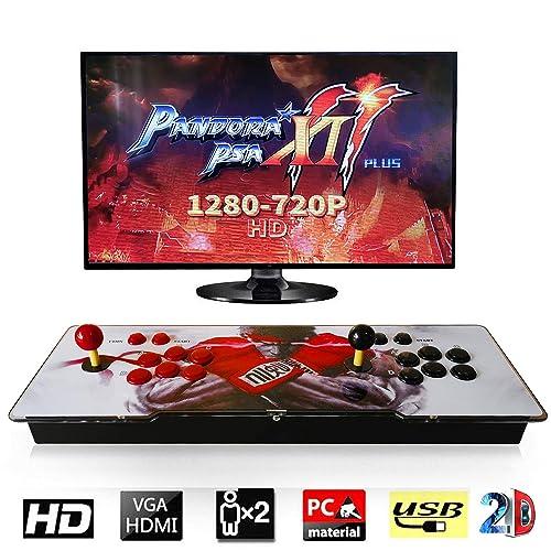 Barbella 2706 Pandora Treasure 2D Retro Arcade Game Console Machine 1280720p Full HD USB & TF/Micro SD Ports | HDMI/VGA/USB Audio Output