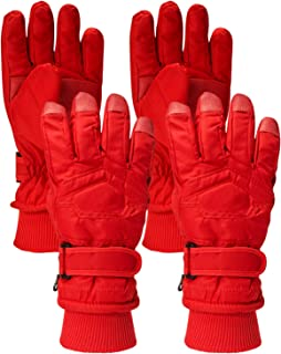 Connex Gear Boys Thinsulate Lining Windproof Waterproof Snow Gloves (2 Full Sets)