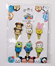 Disney Trading Pins HKDL - Tsum Tsum Ice Cream Cone Booster Set Mickey Minnie Donald Daisy Stitch Scrump Marie LGM Mike Sulley Pooh Piglet