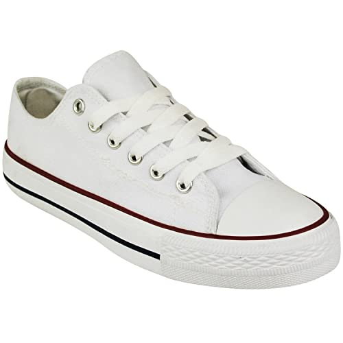 white canvas sneakers womens uk
