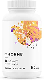 Thorne Research - Bio-Gest - Blend of Digestive Enzymes to Aid Digestion - 60 Capsules