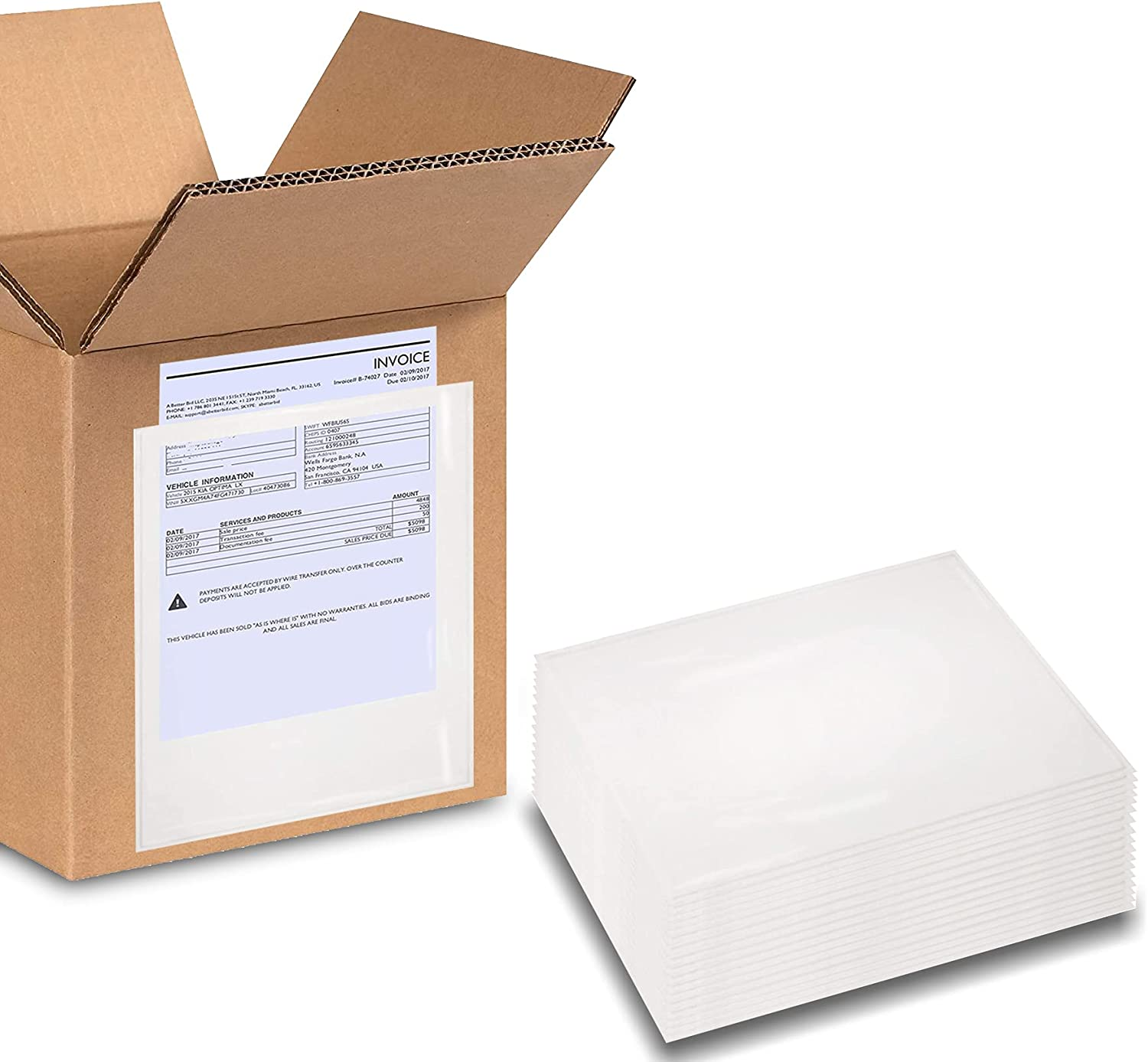 It is very popular ABC Pack of 500 Packing List x mart Self-Adh 9.5 Envelope 12 Enclosed
