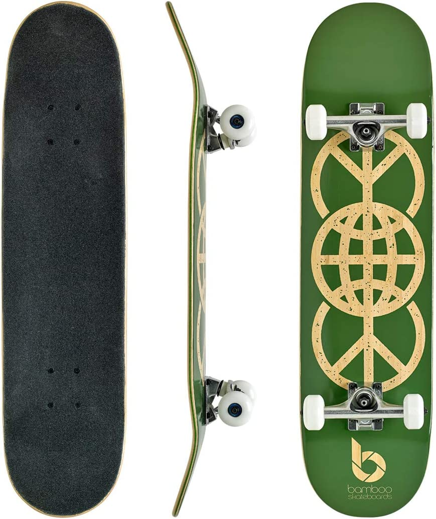 Bamboo Skateboards Complete Skateboard - More 2021 spring and summer new Lighter Chicago Mall Stro Pop