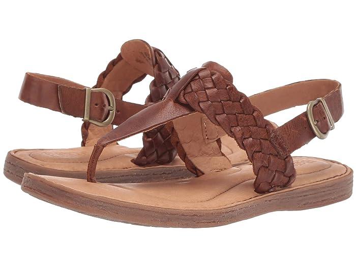 Born  Sumter (Tan Full Grain Leather) Womens Sandals