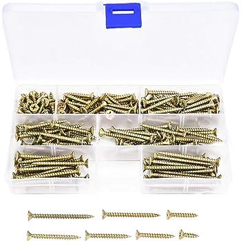 Bargainscrews Lot de 200 vis /à cartons multi usages 4.5 x 45mm