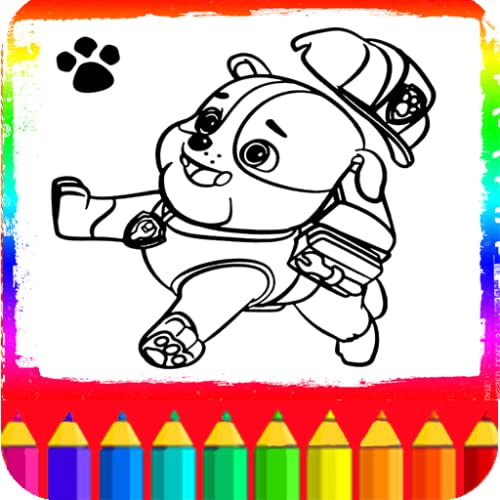 Coloring Book For Paw Patrol Games For Kids