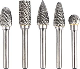 "3//4/"" Diameter 1//4/"" Shank Spherical Ball USA Carbide Burr Aluminum Cut SD-7NF"