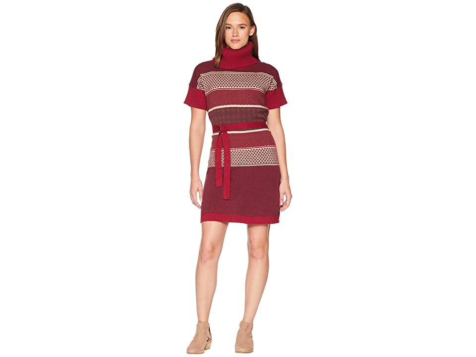 Royal Robbins Frost Sweater Dress (Rumba Red) Women