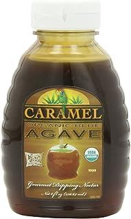 海外直送品FunFresh Foods Organic Blue Agave Nectar Caramel, Caramel 8 oz