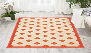 Nourison Aloha Red Indoor/Outdoor Area Rug 2'8