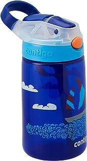 Contigo 50915 Gizmo Flip Autospout Water Bottle, Yacht 420 ml Capacity, Multicolored