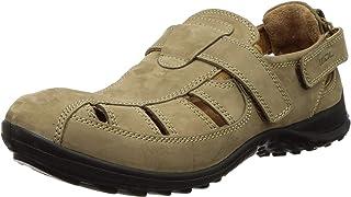 Woodland Men's Camel Leather Sandal-(OGD 1196112)