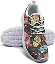 Alcohol Skull Dad of the Dead Plimsolls Women for Women cute Comfortable and Lightweight Comfortable Walking Shoes