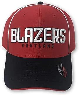 Reebok Portland Trail Blazers Structured Adjustable Hat red