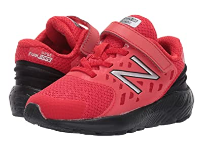 New Balance Kids FuelCore URGEv2 (Infant/Toddler) (Velocity Red/Black) Boys Shoes