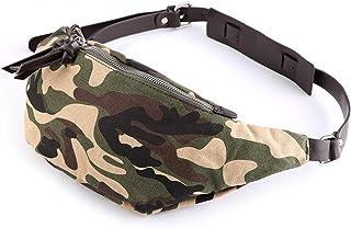 Bageek Camouflage Chest Bag Sling Bag Canvas Portable Sling Backpack for Men