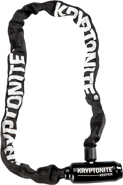 Kryptonite Keeper 585 5mm Chain Bicycle Lock, Black, 5mm x 85cm : Sports & Outdoors